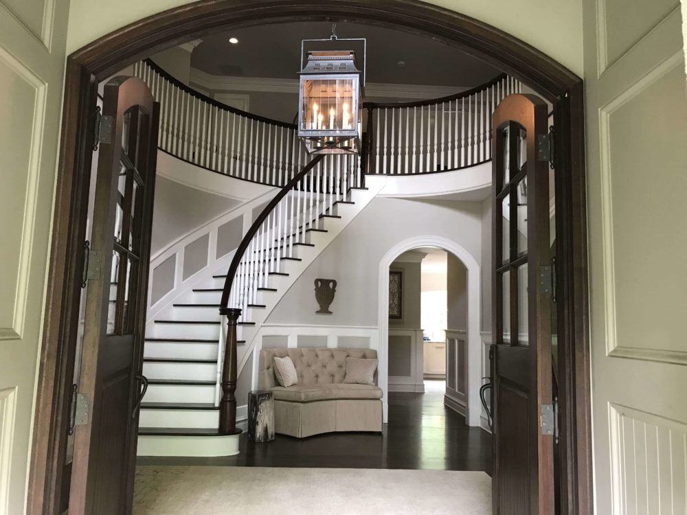Entryway of Full Home Remodel in Great Falls