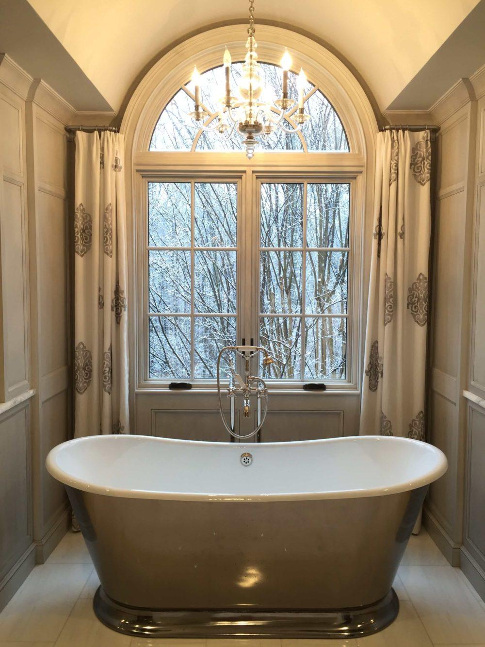 Freestanding Tub in Great Falls Virginia Bathroom Renovation