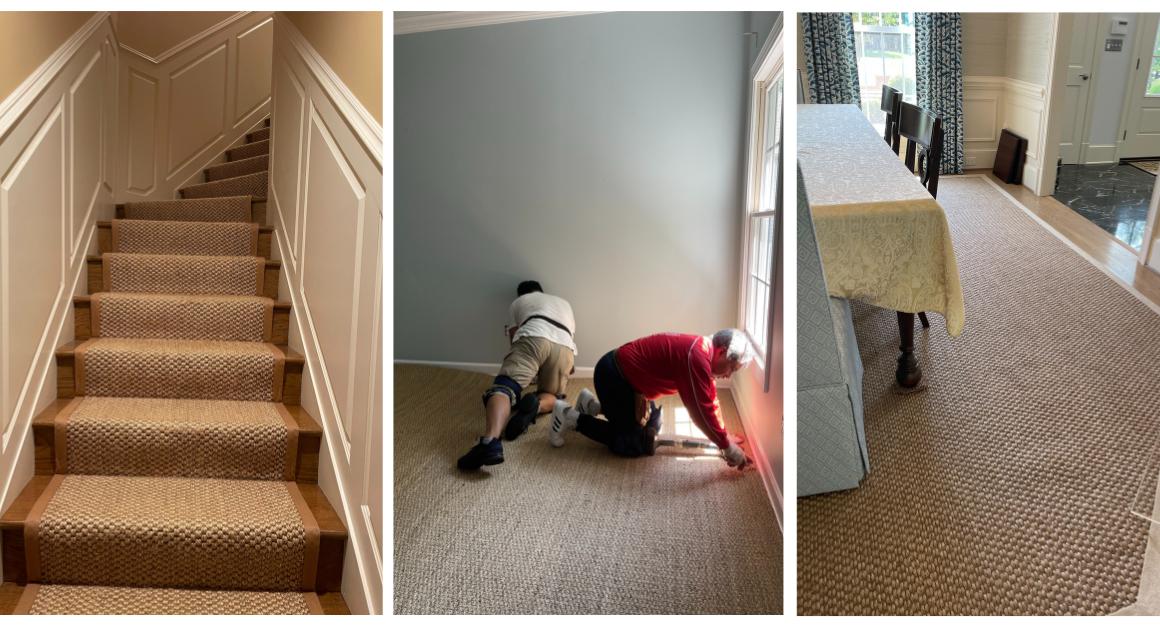 Sisal Flooring Installation