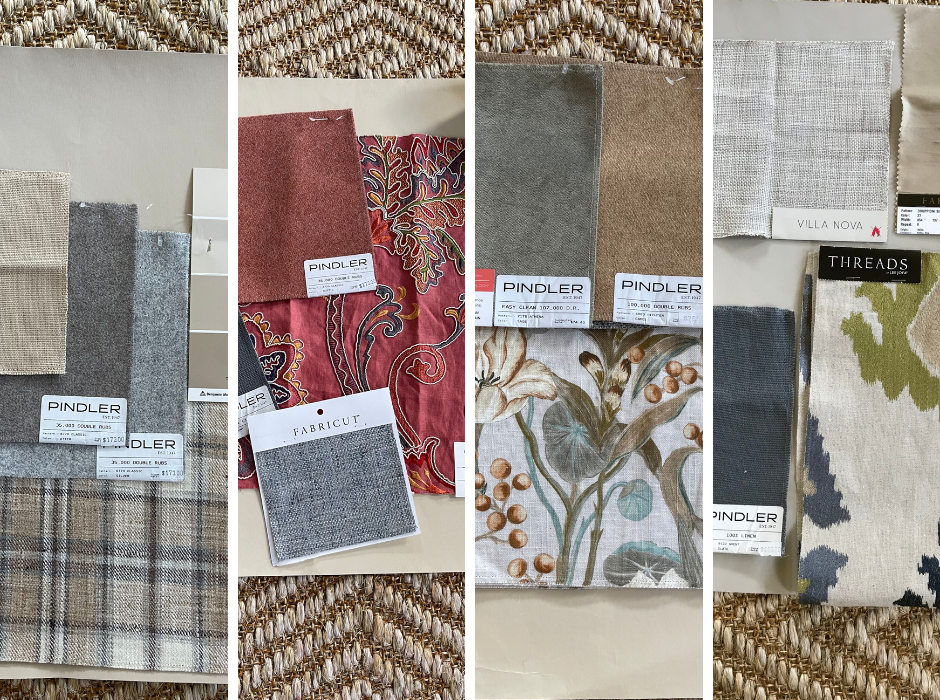 Interior Fabrics and Paint Colors for the Fall